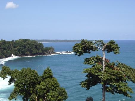 Pantai wisata Lampung